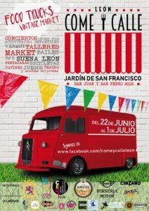 COME Y CALLE FIESTAS DE SAN JUAN Y SAN PEDRO 2018 @ JARDÍN DE SAN FRANCISCO  | León | Castilla y León | España