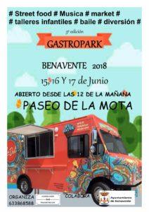 GASTROPARK BENAVENTE 2018 @ PASEO DE  LA MOTA | Benavente | Castilla y León | España
