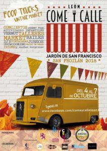 COME Y CALLE SAN FROILAN 2018 @ JARDIN DE SAN FRANCISCO | León | Castilla y León | España