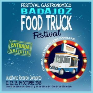 FESTIVAL GASTRONÓMICO  BADAJOZ  FOODTRUCK MUSIC @ AUDITORIO RICARDO CARAPETO | Badajoz | Extremadura | España